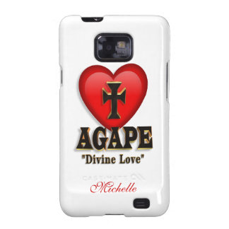 Agape heart symbol for God's divine love Galaxy S2 Cover