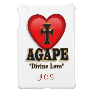 Agape heart symbol for God's divine love iPad Mini Cases