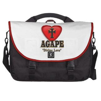 Agape heart symbol for God's divine love Laptop Computer Bag