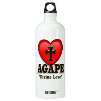 Agape heart symbol for God's divine love SIGG Traveller 1.0L Water Bottle