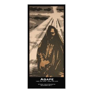 """Agape"" Value Bookmarks Rack Card"