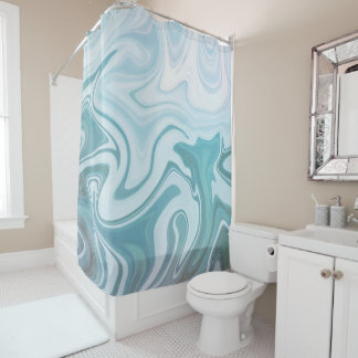 Agate Blue | Shower Curtain