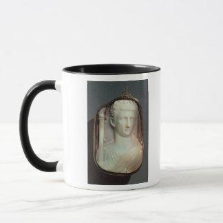 Agate Cameo bearing the portrait of Claudius Mug