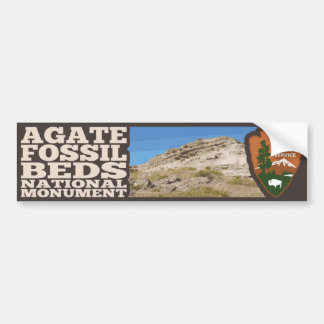 Agate Fossil Beds National Monument Bumper Sticker