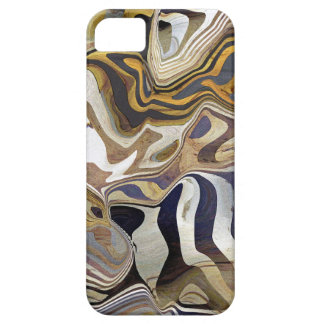Agate Rock Quartz design Barely There iPhone 5 Case