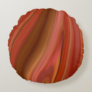 agate round cushion