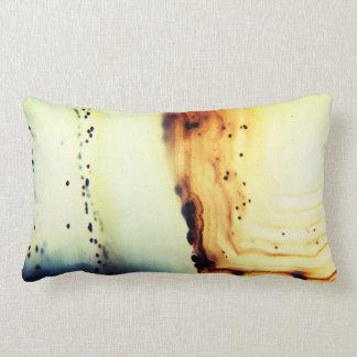 Agate Stone Close-Up Lumbar Cushion