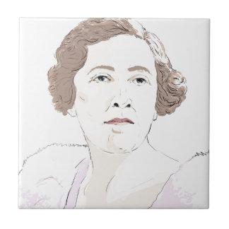 Agatha Christie Tile