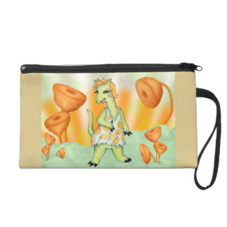 AGATHE CUTE ALIEN Wristlet Bag