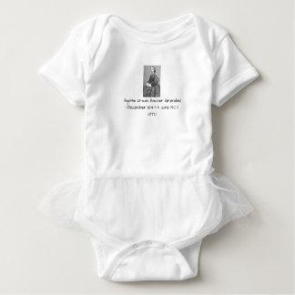 Agathe Ursula Backer Grondahl, 1870 Baby Bodysuit