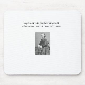 Agathe Ursula Backer Grondahl, 1870 Mouse Pad