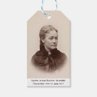 Agathe Ursula Backer Grondahl Gift Tags