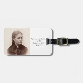 Agathe Ursula Backer Grondahl Luggage Tag