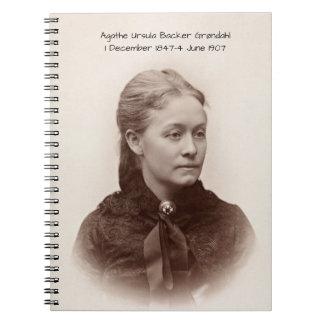 Agathe Ursula Backer Grondahl Notebook