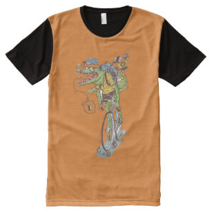 AGATOR RIDER All-Over PRINT T-Shirt