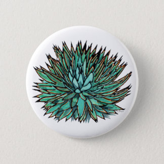 agave1 6 cm round badge