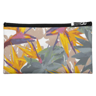 AGAVE + BIRD OF PARADISE MAKEUP BAG