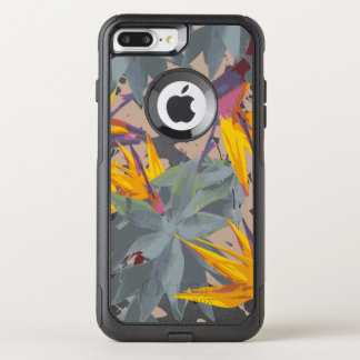 AGAVE + BIRD OF PARADISE OtterBox COMMUTER iPhone 7 PLUS CASE
