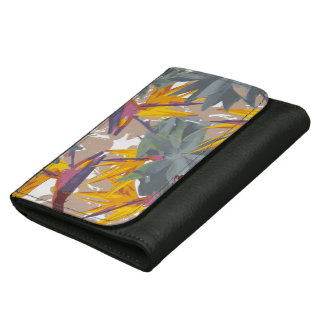 AGAVE + BIRD OF PARADISE WALLET FOR WOMEN