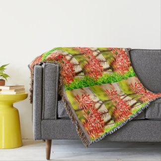 Agave Bloom Throw Blanket