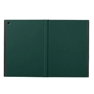 Agave Dark Forest Green Solid Color Background iPad Air Case