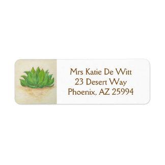 Agave return address label