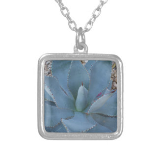 Agave Silver Plated Necklace