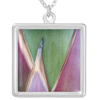 Agave Stalk Silver Plated Necklace