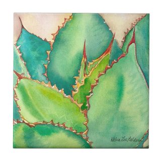 Agave tile by Debra Lee Baldwin