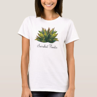 Agave watercolor ladies' T-shirt