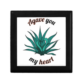 agave you my heart gift box