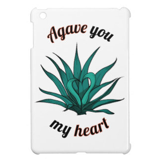 agave you my heart iPad mini case
