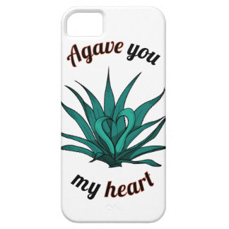 agave you my heart iPhone 5 cover
