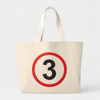 Age 3 tote bags