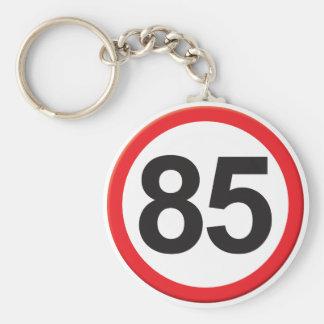 Age 85 keychain
