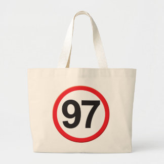Age 97 tote bags