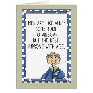 Age Improved Birthday Note Card