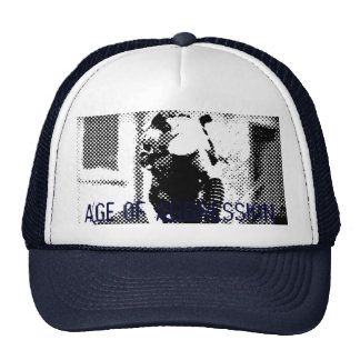 Age of Aggression Gas Mask Blue Cap