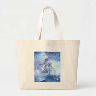 Age of Aquarius Jumbo Tote Bag
