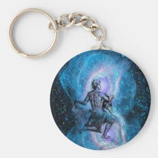 Age of Aquarius Key Chain