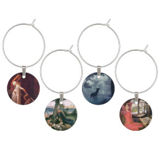 Age of Chivalry Wine Charm Set