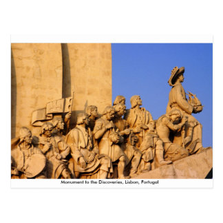 Age of Discoveries Monument, Lisbon, Portugal Post Card