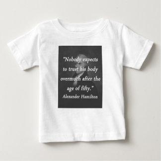 Age of Fifty - Alexander Hamilton Baby T-Shirt