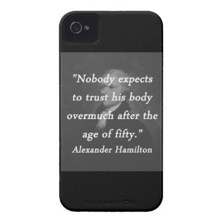 Age of Fifty - Alexander Hamilton iPhone 4 Case