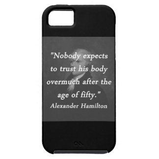 Age of Fifty - Alexander Hamilton iPhone 5 Cases