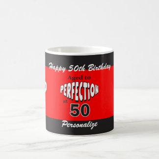 Age to Perfection at 50 | 50th Birthday Basic White Mug