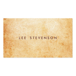 Aged and Rustic Stone Look Surface Artist Pack Of Standard Business Cards