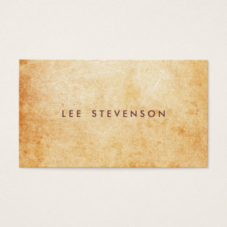 Aged and Rustic Stone Look Surface Artist Business Card