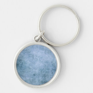 Aged and Worn Blue Vintage Texture Key Chains