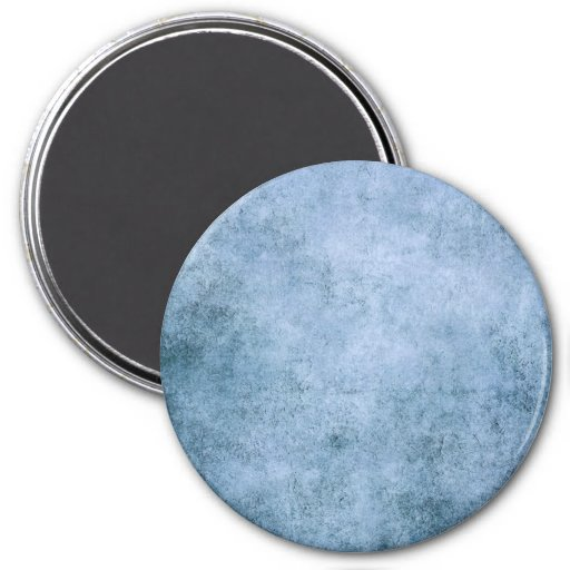Aged and Worn Blue Vintage Texture Fridge Magnet